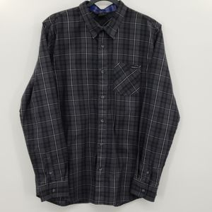 Oakley Button Up Plaid Long Sleeve
